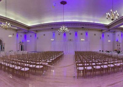 The Melody Ballroom Wedding Setup