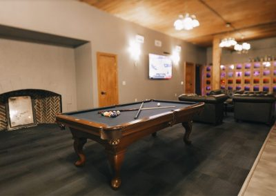 The Keep Lounge Pool Table